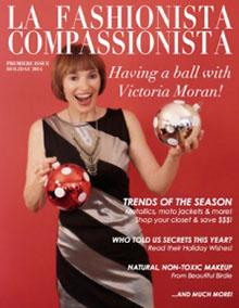 Holiday 2014 cover - La Fashionista Compassionista