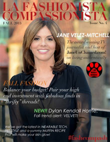 Fall 2015 cover - La Fashionista Compassionista