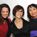 Julianna Heaver, Fran Costigan, Miyoko Schinner on the Red Carpet - LA Fashionista Compassionista