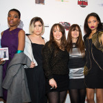 Lois with our models and makeup artist Eve Love - LA Fashionista Compassionista