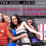 Our Invitation to the launch party - LA Fashionista Compassionista