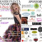 Promo featuring our many sponsors - LA Fashionista Compassionista