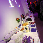 Some of the yummy food donated by our sponsors - LA Fashionista Compassionista