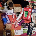 The Gift bag was packed with fantastic, cruelty free products! - LA Fashionista Compassionista