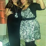 Adrienne with Sharon Nazarian of the Big City Vegan blog- LA Fashionista Compassionista