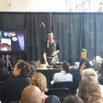 Saw our friend Chef Jay Astafa give a demo - LA Fashionista Compassionista