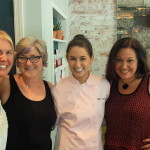 Met Chef Chloe Coscarelli while having lunch at ByChloe with designer Kat Mendenhall and author JL Fields - LA Fashionista Compassionista